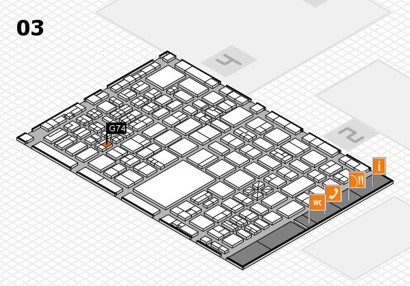 boot 2017 hall map (Hall 3): stand G74