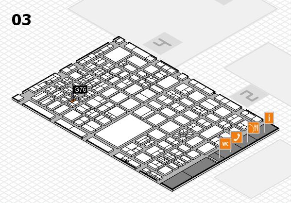 boot 2017 hall map (Hall 3): stand G76