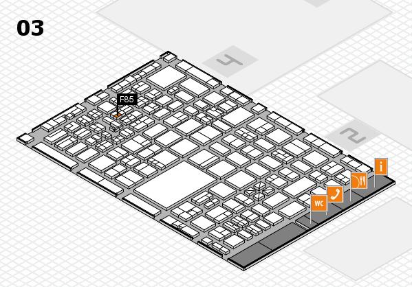 boot 2017 hall map (Hall 3): stand F85