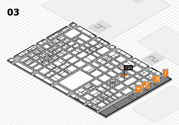 boot 2017 hall map (Hall 3): stand C24