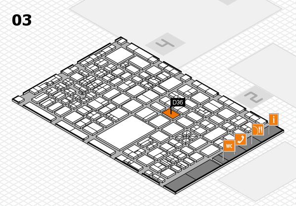 boot 2017 hall map (Hall 3): stand D36