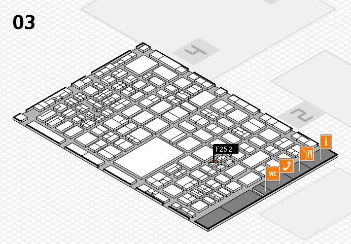 boot 2017 hall map (Hall 3): stand F25.2