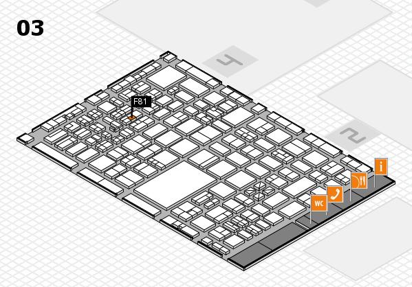 boot 2017 hall map (Hall 3): stand F81