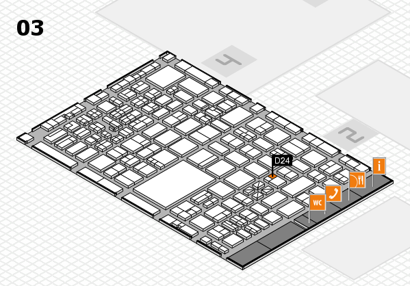 boot 2017 hall map (Hall 3): stand D24