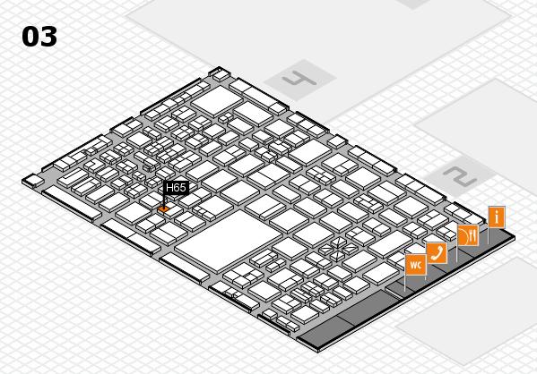 boot 2017 hall map (Hall 3): stand H65