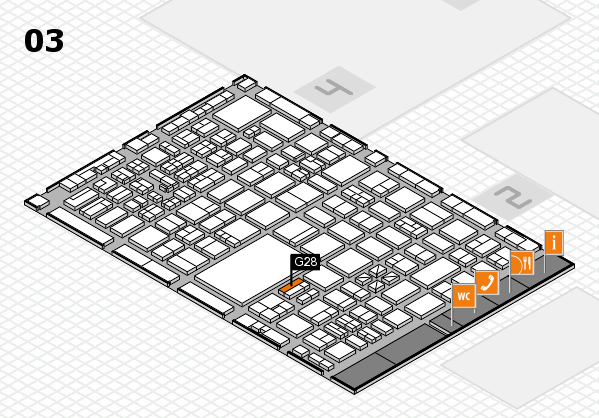 boot 2017 hall map (Hall 3): stand G28