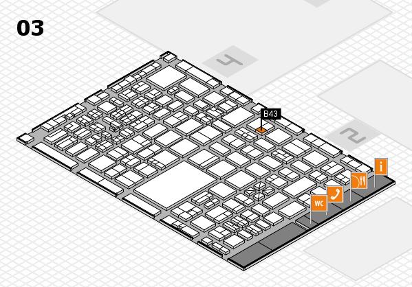 boot 2017 hall map (Hall 3): stand B43