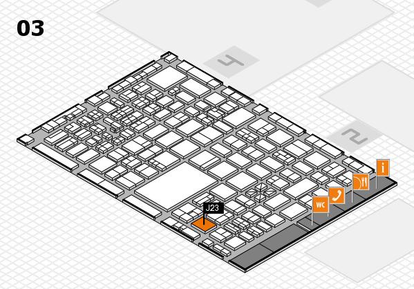 boot 2017 hall map (Hall 3): stand J23