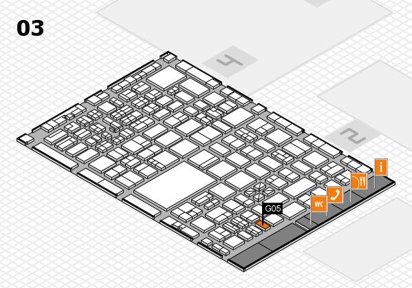 boot 2017 hall map (Hall 3): stand G05