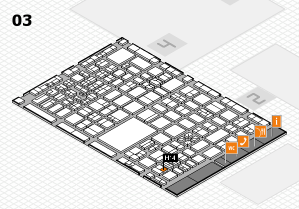 boot 2017 hall map (Hall 3): stand H14