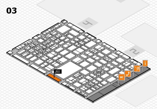 boot 2017 hall map (Hall 3): stand J50