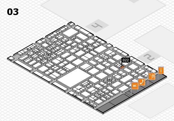 boot 2017 hall map (Hall 3): stand B22