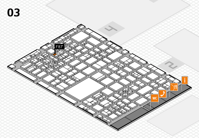 boot 2017 hall map (Hall 3): stand F87