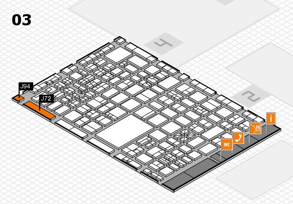 boot 2017 hall map (Hall 3): stand J72, stand J94