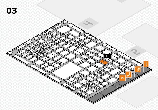 boot 2017 hall map (Hall 3): stand D31