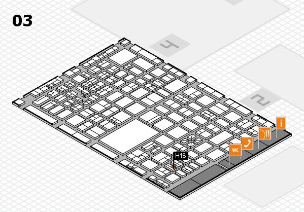 boot 2017 hall map (Hall 3): stand H18