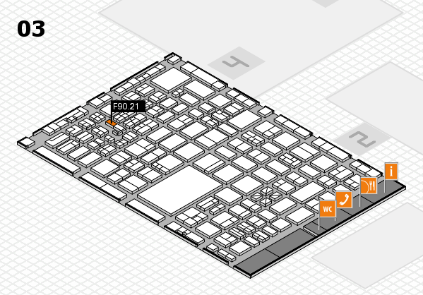 boot 2017 hall map (Hall 3): stand F90.21