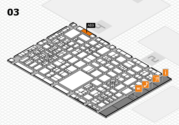 boot 2017 hall map (Hall 3): stand A89