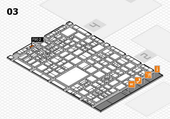 boot 2017 hall map (Hall 3): stand F90.2