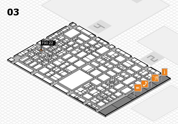 boot 2017 hall map (Hall 3): stand F90.22
