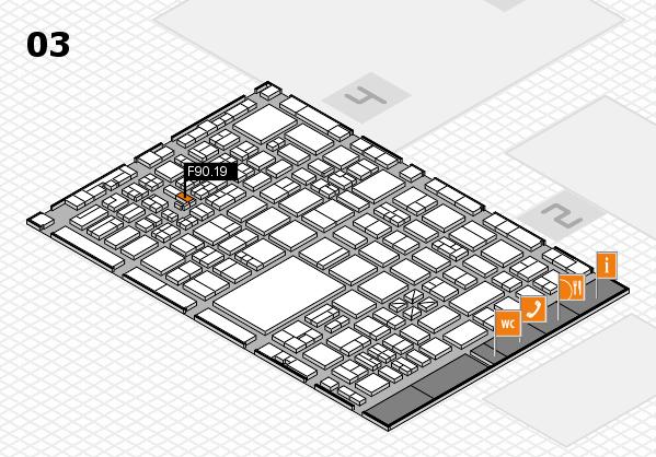 boot 2017 hall map (Hall 3): stand F90.19