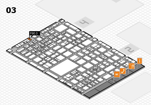 boot 2017 hall map (Hall 3): stand F90.3