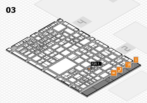 boot 2017 hall map (Hall 3): stand F25.1