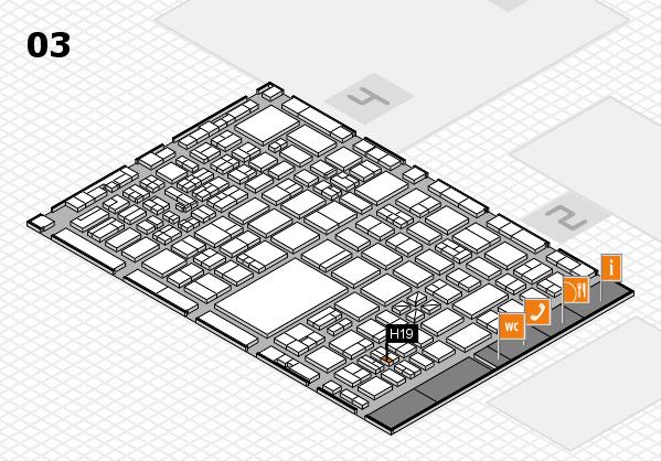 boot 2017 hall map (Hall 3): stand H19