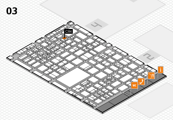 boot 2017 hall map (Hall 3): stand C84