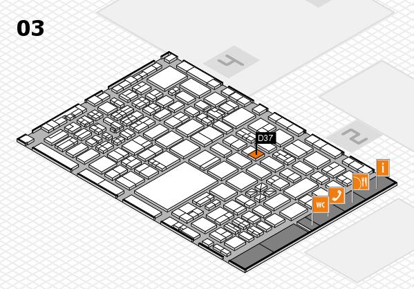 boot 2017 hall map (Hall 3): stand D37