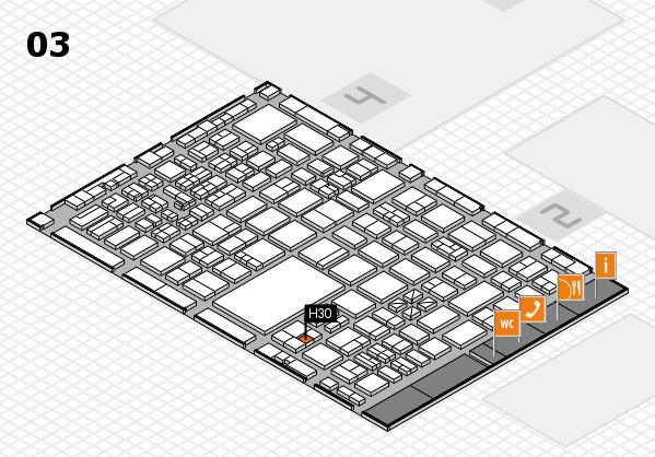 boot 2017 hall map (Hall 3): stand H30