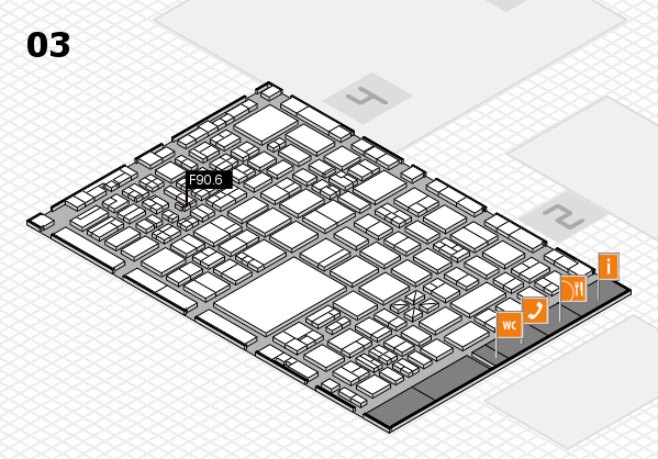 boot 2017 hall map (Hall 3): stand F90.6