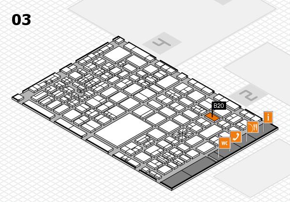 boot 2017 hall map (Hall 3): stand B20