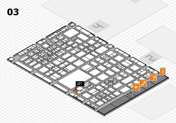 boot 2017 hall map (Hall 3): stand J31