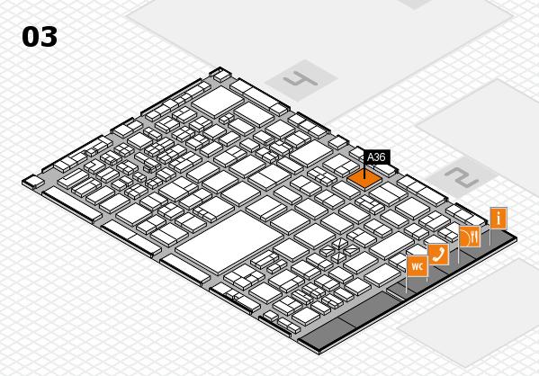 boot 2017 hall map (Hall 3): stand A36