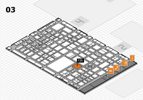boot 2017 hall map (Hall 3): stand F28