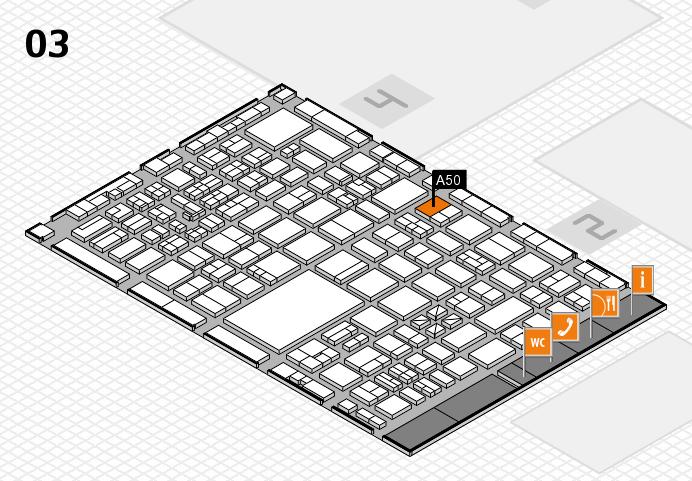 boot 2017 hall map (Hall 3): stand A50
