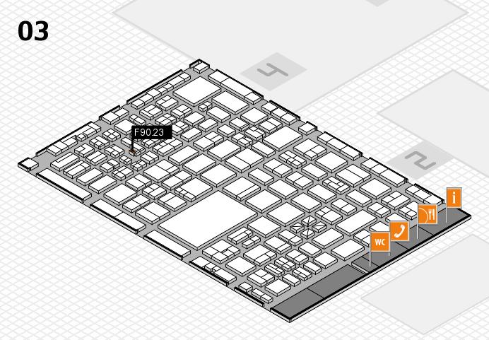 boot 2017 hall map (Hall 3): stand F90.23