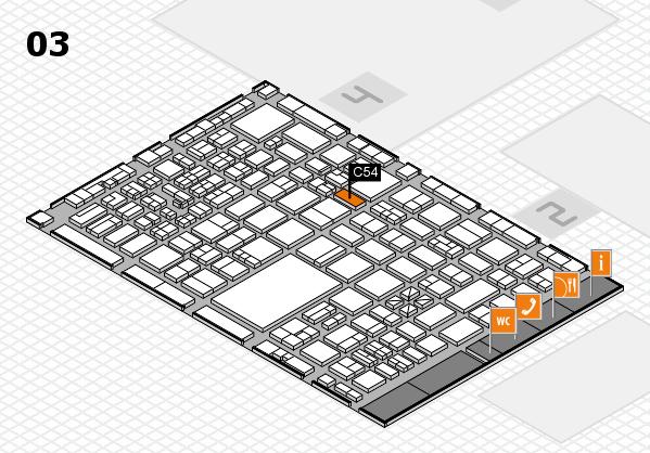 boot 2017 hall map (Hall 3): stand C54