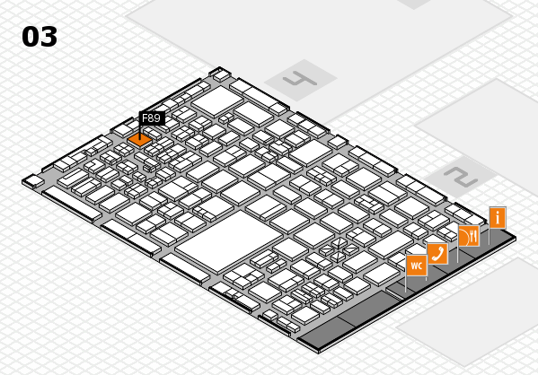 boot 2017 hall map (Hall 3): stand F89