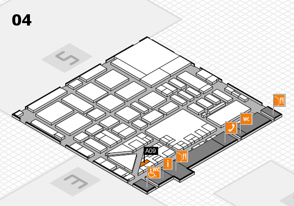 boot 2017 hall map (Hall 4): stand A09