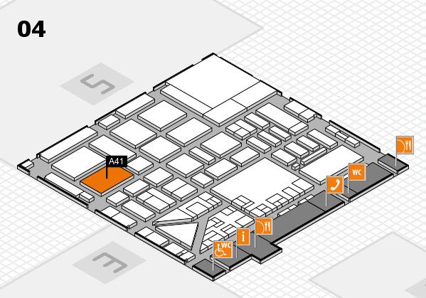 boot 2017 hall map (Hall 4): stand A41