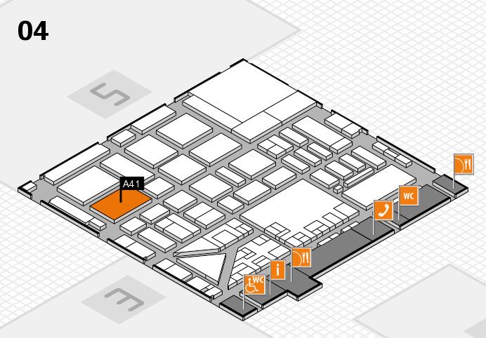 boot 2017 Hallenplan (Halle 4): Stand A41