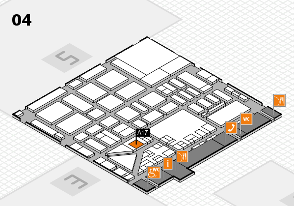 boot 2017 hall map (Hall 4): stand A17