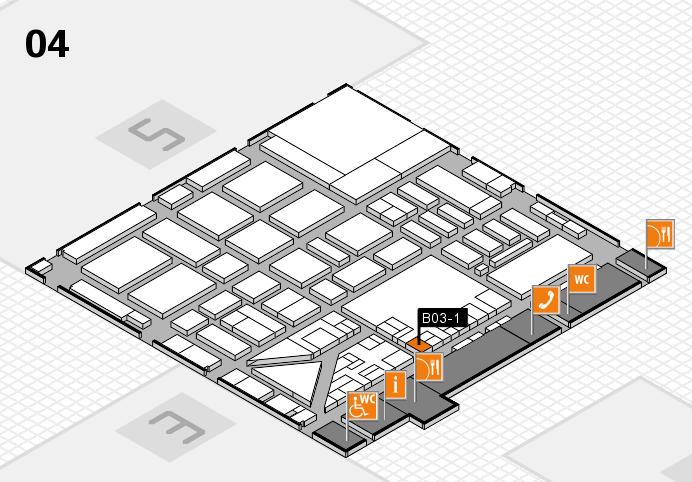 boot 2017 hall map (Hall 4): stand B03-1