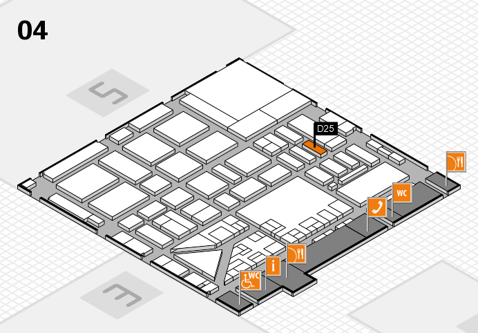 boot 2017 hall map (Hall 4): stand D25