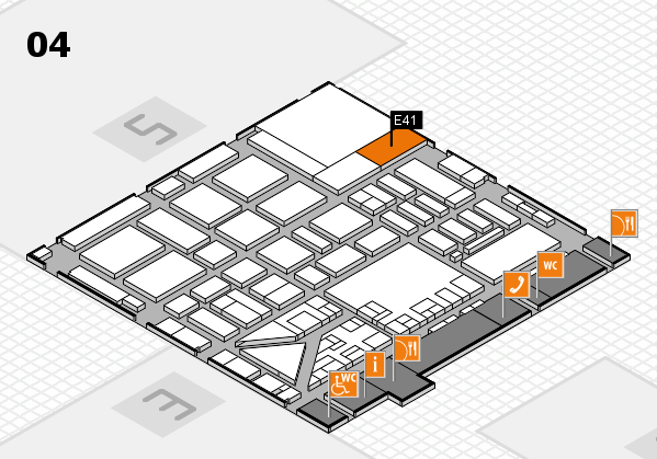 boot 2017 hall map (Hall 4): stand E41