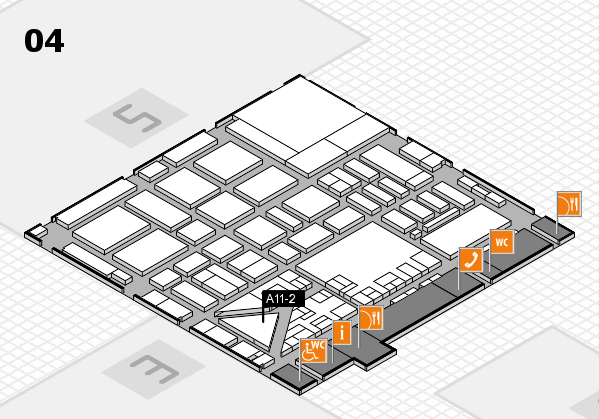boot 2017 hall map (Hall 4): stand A11-2