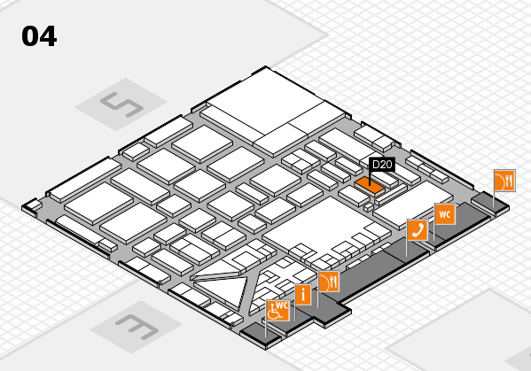 boot 2017 hall map (Hall 4): stand D20