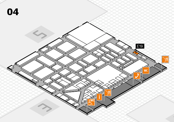 boot 2017 hall map (Hall 4): stand E19